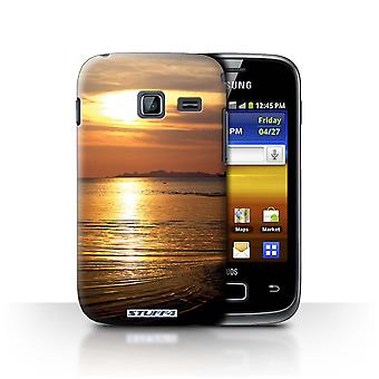 STUFF4 Case/Cover for Samsung Galaxy Y Duos/S6102/Sea/Sunset Scenery