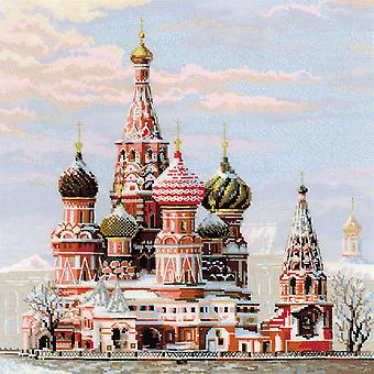 Moscow St Basil's Cathedral Counted Cross Stitch Kit-15.75