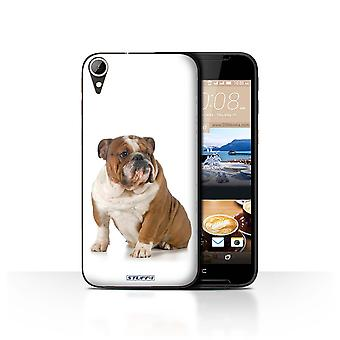STUFF4 Case/Cover for HTC Desire 830/Bulldog/Dog Breeds