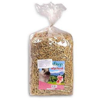 Fiory Hay Alpiland with rose petals 500GR. (Small pets , Hay)