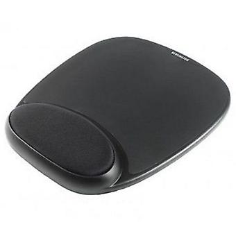 Sandberg (520-23) Mouse Pad with Ergonomic Wrist Rest, Black, 5 Year Warranty