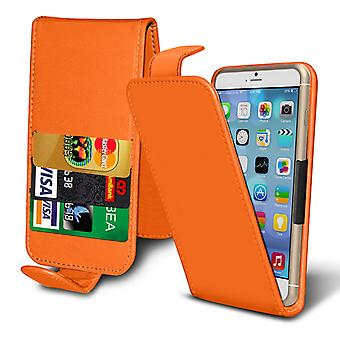 ( Orange) Case For Xiaomi iMi 5 Exclusive Edition Faux Leather Holdit Spring Clamp Adjustable Flip Case Xiaomi iMi 5 Exclusive Edition Cover By i-Tronixs