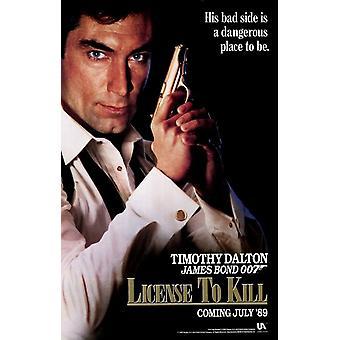 Lizenz zum töten Movie Poster (11 x 17)