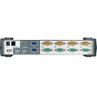 Aten Kvm Switch Dual View 4-Port Vga Usb (Hogar , Electrónica , Redes , Switch)