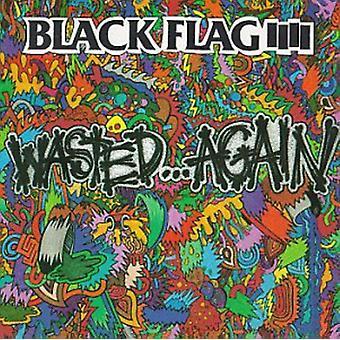 Black Flag - spildt igen [Vinyl] USA importerer