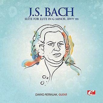 J.S. Bach - J.S. Bach: Suite dla Lute G-moll Bwv 995 USA import