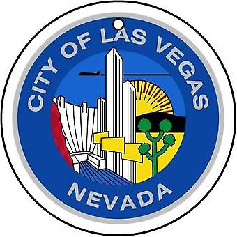 Nevada Las Vegas City Seal Car Air Freshener