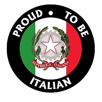 Proud To Be Italian Car Air Freshener