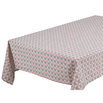 Wellindal Mantel love rosa (Home , Kitchen , Kitchen tools , Table cloths and Placements)