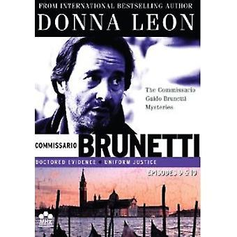 Commissario Guido Brunetti mysterier: Ep 9-10 [DVD] USA importerer