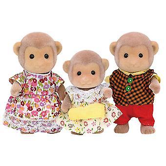 Familia conjunto de Sylvanian Familias mono