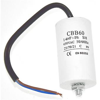 Universal 14UF Capacitor with 14cm Cable Connectors