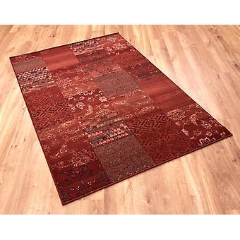 Kashqai 300 4327 rosso Terra rettangolo tappeti tappeti tradizionali