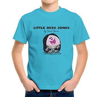 Liten Miss Jones av Jessie Jones Kid's T-Shirt