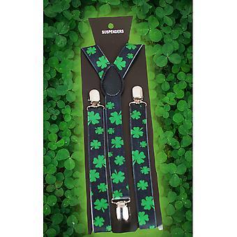 Belts and suspenders  Bretellen Shamrock/ Klavertje 4