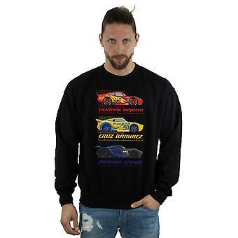 Disney Men's Cars Racer Profile Sweatshirt