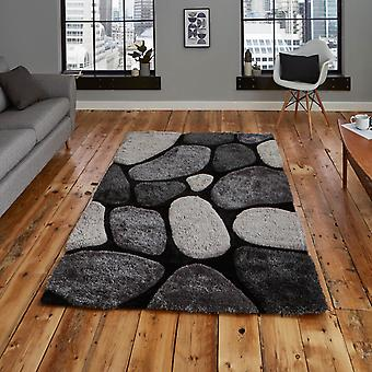 Noble House Rugs Nh G1631 In Black Grey