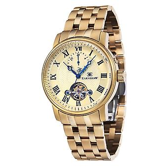 Thomas Earnshaw Es-8042-22 Westminster Gold Stainless Steel Automatic Men's Watch
