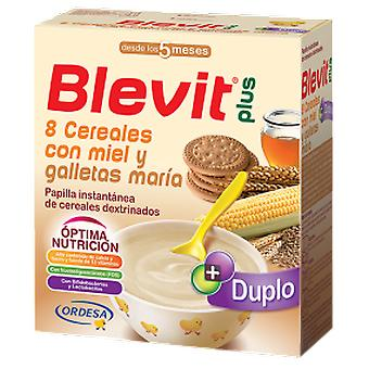 Blevit Papilla 8 Cereals Plus Duplo with Honey and Cookies