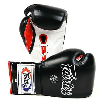 Fairtex 12oz Mexican Lace-Up Boxing Gloves