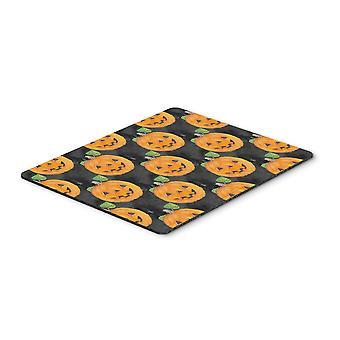 Watecolor Halloween Jack-O-Lantern Mouse Pad, Hot Pad or Trivet