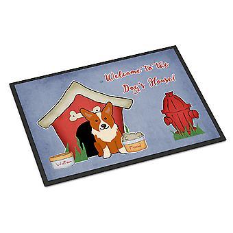 Dog House Collection Corgi Indoor or Outdoor Mat 24x36