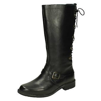 Ladies Easy B Lace Up Back Boots Canada