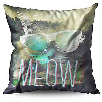 Cool Cat Linen Cushion Cool Cat | Wellcoda
