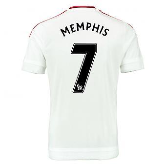 2015-2016 Man Utd Away Shirt (Memphis 7) - Kids