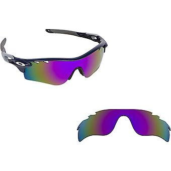 Vented Radarlock Path Replacement Lenses Polarized Purple by SEEK fits OAKLEY
