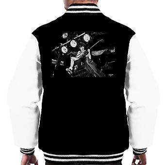 ACDC Angus Young On Stage Men's Varsity Jacket