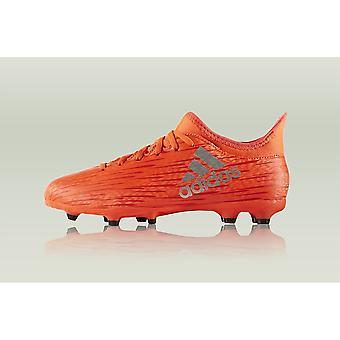 Adidas X 163 FG J S79489 fotboll barn året skor