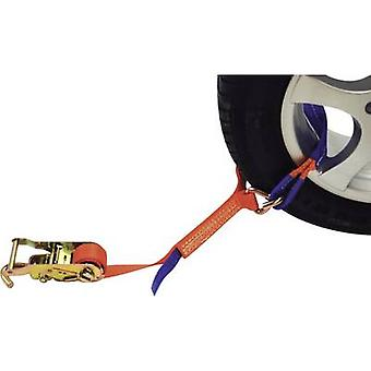 Car transport lash-down strap Low lashing capacity (single/direct)=1500 daN (L x W) 2.3 m x