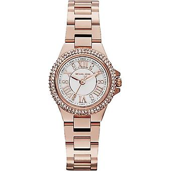 Michael Kors Ladies Watch Mini Camille Petite Rose Gold MK3253