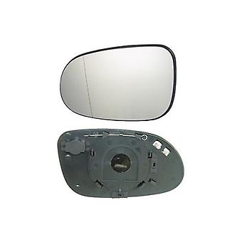 Left Mirror Glass (Heated) For Mercedes CLK Convertible 1998-2002