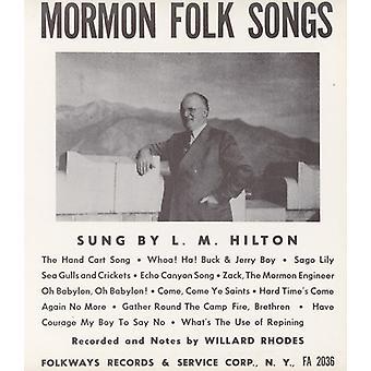L.M. Hilton - Mormon folkesange [CD] USA import