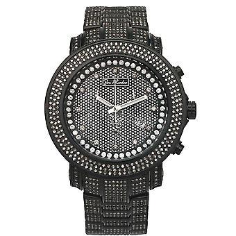 Joe Rodeo diamond men's watch - JUNIOR black 11.5 ctw