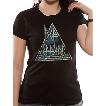 Def Leppard - Pyramid T-Shirt (Fitted)