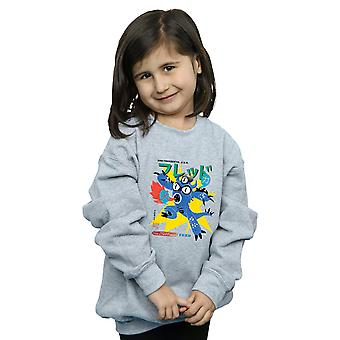 Disney Girls Big Hero 6 Fred Ultimate Kaiju Sweatshirt