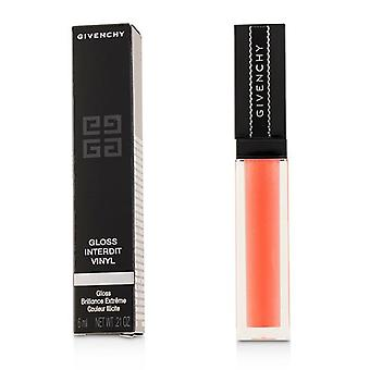 Givenchy Gloss Interdit Vinyl - # 08 Corail Graffiti - 6ml/0.21oz