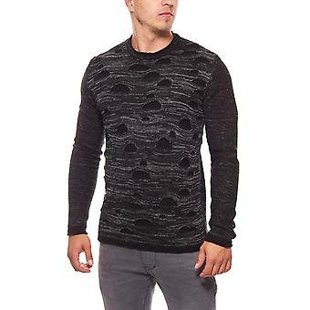 CARISMA knit sweaters mens black knitted sweater sweater