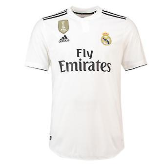 1b02fb3ed 2018-2019 ريال مدريد أديداس أصيلة الرئيسية القميص لكرة القدم