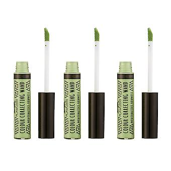 Barry M X 3 Barry M Colour Correcting Wands - Green