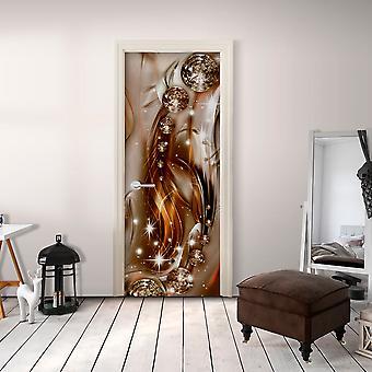 Foto behang op de deur - foto behang-abstractie ik
