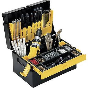 Tool box (empty) Alutec 56550 Plastic Black, Yellow