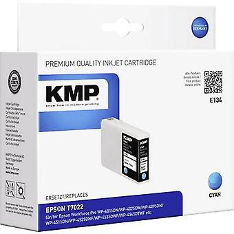 KMP Ink replaced Epson T7022 Compatible Cyan E134 1620,4003