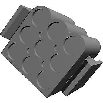 Invólucro de TE conectividade soquete - número Total de MATE-N-LOK de cabo.140 de pinos 9 1-480585-0 1 computador (es)