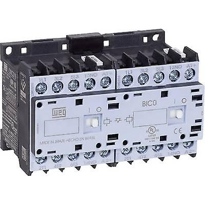 WEG CWCI09-10-30D24 Reversing contactor 1 pc(s) 6 makers 4 kW 230 V AC 9 A + auxiliary contact