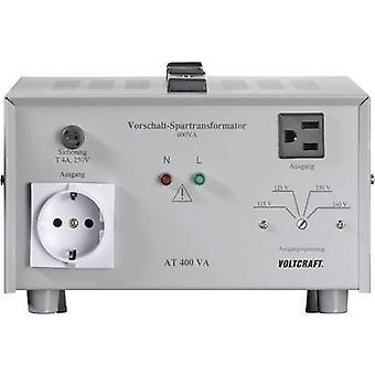 VOLTCRAFT AT-400 NVSeries transformer, voltage converter,115/125 · 230/240 V AC /230/240 · 115/125 V AC/ 400 W