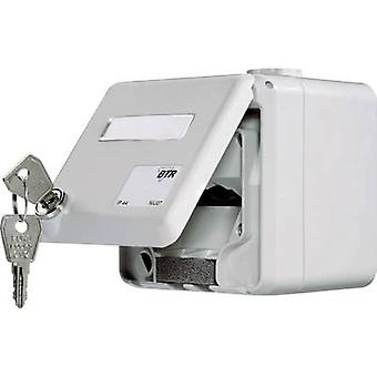 Metz Connect Network outlet Surface-mount Unequipped 2 ports Grey
